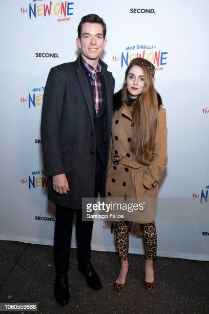 John Mulaney and Annamarie Tendler attend The New One Broadway Opening Night at Cort Theatre on November 11 2018 in New York City