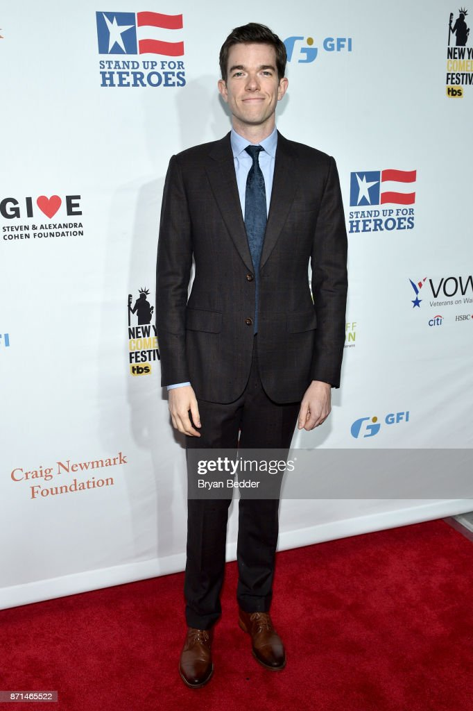 John Mulaney attends the 11th Annual Stand Up for Heroes Event presented by The New York Comedy Festival and The Bob Woodruff Foundation at The Theater at Madison Square Garden on November 7, 2017 in New York City.