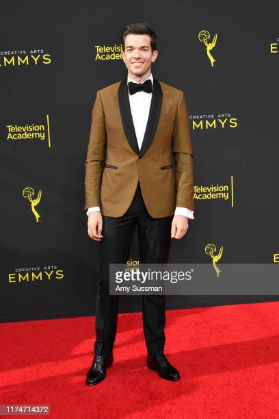 John Mulaney attends the 2019 Creative Arts Emmy Awards on September 14 2019 in Los Angeles California