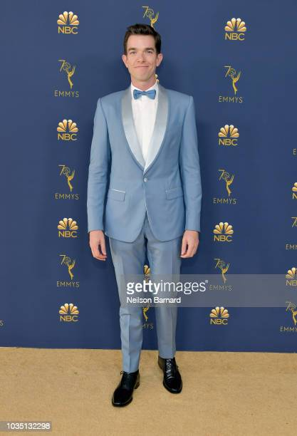 John Mulaney attends the 70th Emmy Awards at Microsoft Theater on September 17 2018 in Los Angeles California