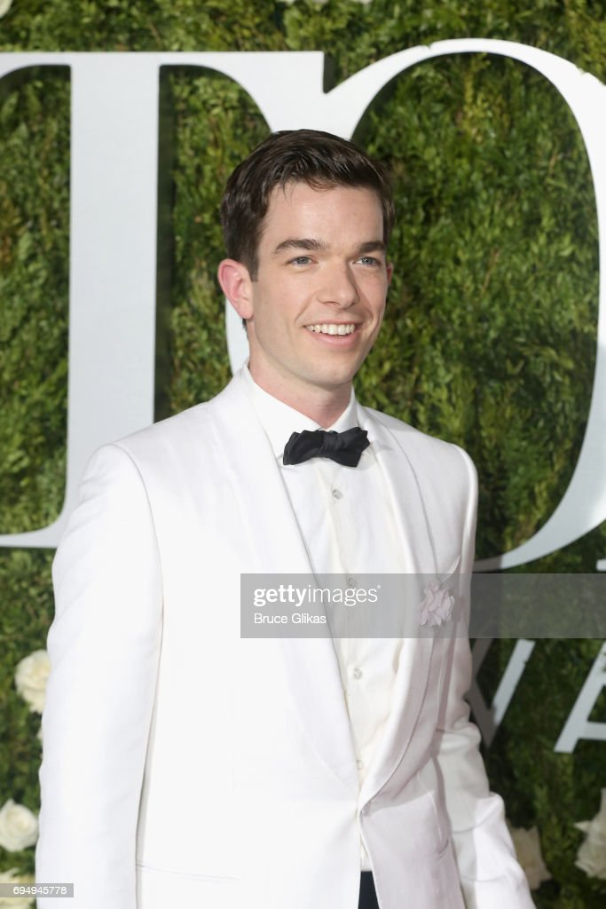 John Mulaney attends the 71st Annual Tony Awards at Radio City Music Hall on June 11, 2017 in New York City.