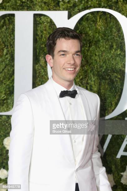John Mulaney attends the 71st Annual Tony Awards at Radio City Music Hall on June 11 2017 in New York City