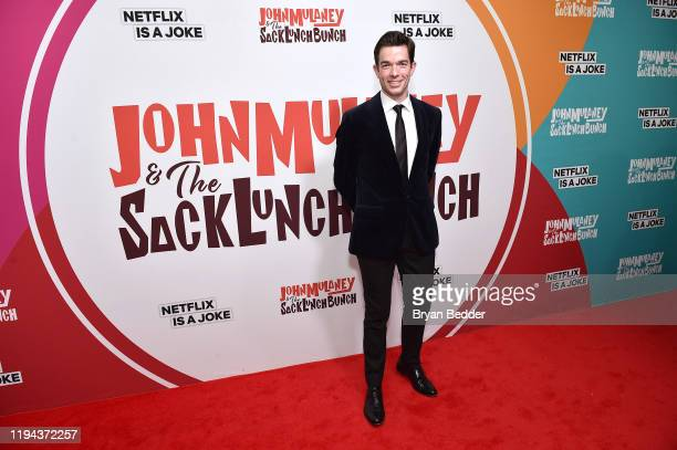 John Mulaney attends the John Mulaney The Sack Lunch Bunch NY Special Screening at The Metrograph on December 16 2019 in New York City