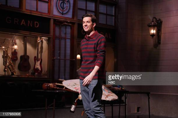 LIVE John Mulaney Episode 1759 Pictured Host John Mulaney during Promos from Studio 8H on Tuesday February 26 2019