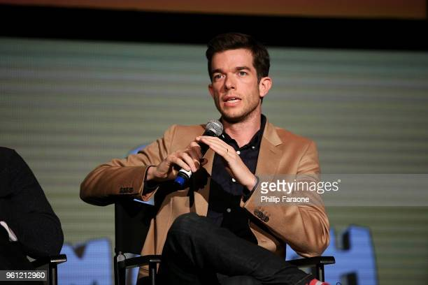 John Mulaney speaks onstage at the #NETFLIXFYSEE Animation Panel Featuring 'Big Mouth' and 'BoJack Horseman' at Netflix FYSEE at Raleigh Studios on...