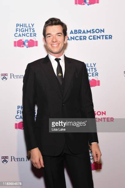 John Mulaney walks the red carpet during the Philly Fights Cancer Round 5 Event benefiting Penn Medicine's Abramson Cancer Center at the Philadelphia...