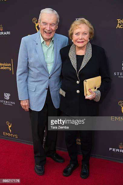John Mulford and CoCreator Lee Phillip Bell attend Television Academy's Daytime Television Celebration at Saban Media Center on August 24 2016 in...