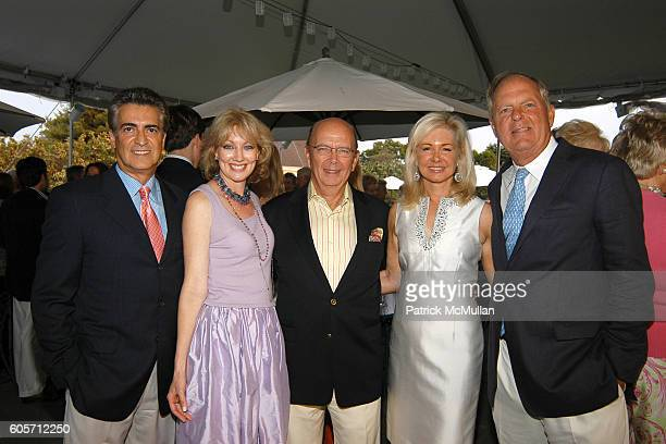 John N Kastanis Joyce M Long Wilbur Ross Hilary Geary Ross and Bill Finneran attend Party in Honor of The Presidents Committee for this Summers...