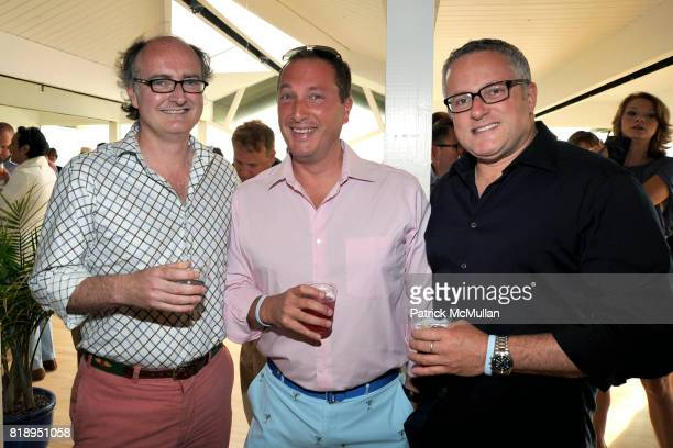 John Navin David Landgraf and Brian O'Reilly attend MIRACLE HOUSE 20th Anniversary Memorial Day Summer Kickoff Benefit honoring Amy Chanos and Jim...