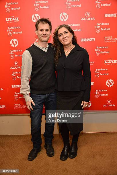 John Nein and Anna Muylaert attend 'The Second Mother' Premiere 2015 Sundance Film Festival during the 2015 Sundance Film Festival on January 25 2015...