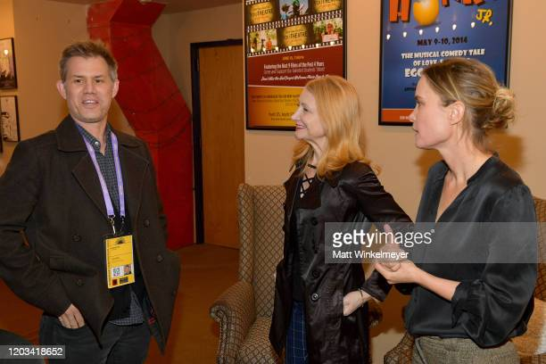 John Nein Patricia Clarkson and Radha Mitchell attend the 2020 Sundance Film Festival High Art Premiere at Egyptian Theater on February 01 2020 in...