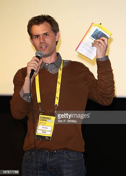 John Nein speaks at The Kings of Summer screening during Sundance London Film And Music Festival 2013 at Sky Superscreen O2 on April 27 2013 in...