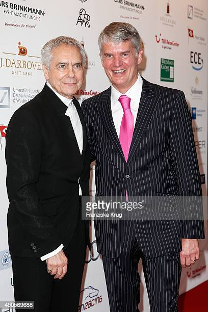 John Neumeier and Hermann Reichenspurner attends the 'Das Herz im Zentrum' Charity Gala on June 13, 2014 in Hamburg, Germany.