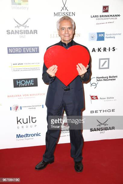 John Neumeier attend the Charity Gala 'Das Herz im Zentrum' on June 4, 2018 in Hamburg, Germany.