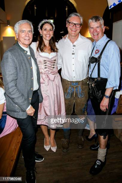 "John Neumeier, Dorit Otto, Alexander Otto and Hermann Reichenspurner attendsthe Charity Gala ""Das Herz im Zentrum"" at Hofbraeuhas on October 24, 2019..."