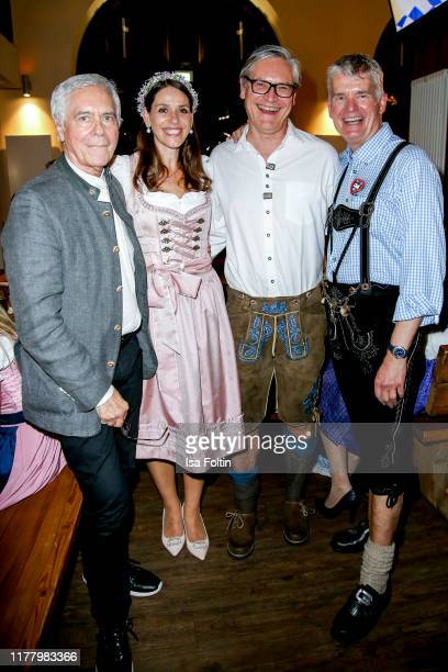"John Neumeier, Dorit Otto Alexander Otto and Hermann Reichenspurner attend the Charity Gala ""Das Herz im Zentrum"" at Hofbraeuhas on October 24, 2019..."