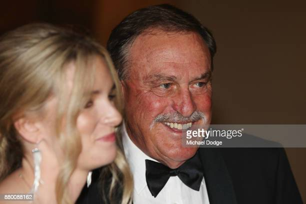 John Newcombe arrives at the 2017 Newcombe Medal at Crown Palladium on November 27 2017 in Melbourne Australia