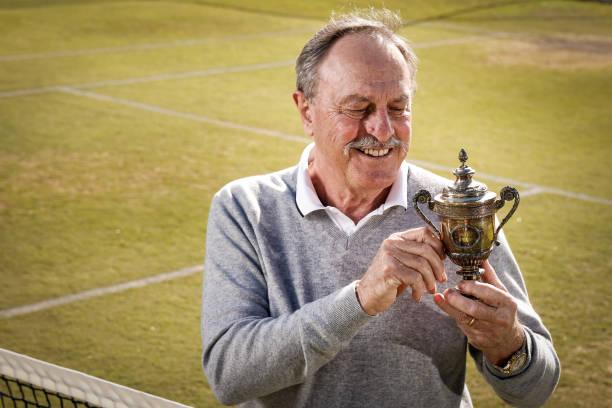 AUS: Celebrating John Newcombes 50th Anniversary Since Winning Wimbledon