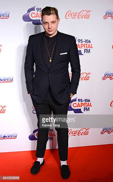 John Newman attends on day 2 of the Capital FM Jingle Bell Ball at the 02 Arena on December 8 2013 in London England
