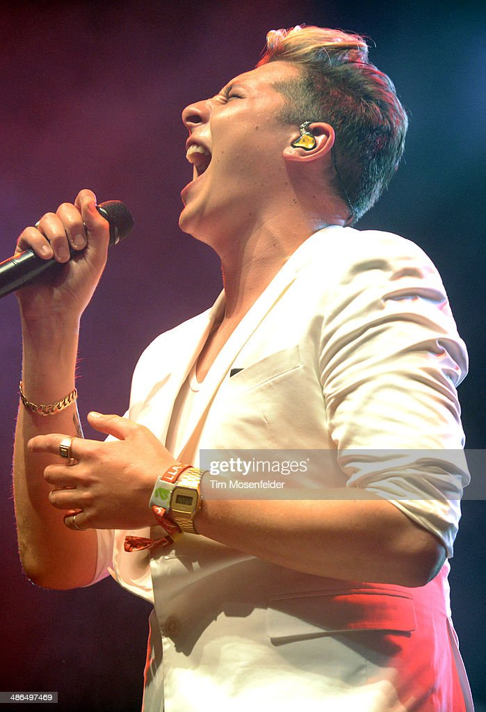 John Newman performs as part of the Coachella Valley Music and Arts Festival at The Empire Polo Club on April 20, 2014 in Indio, California.