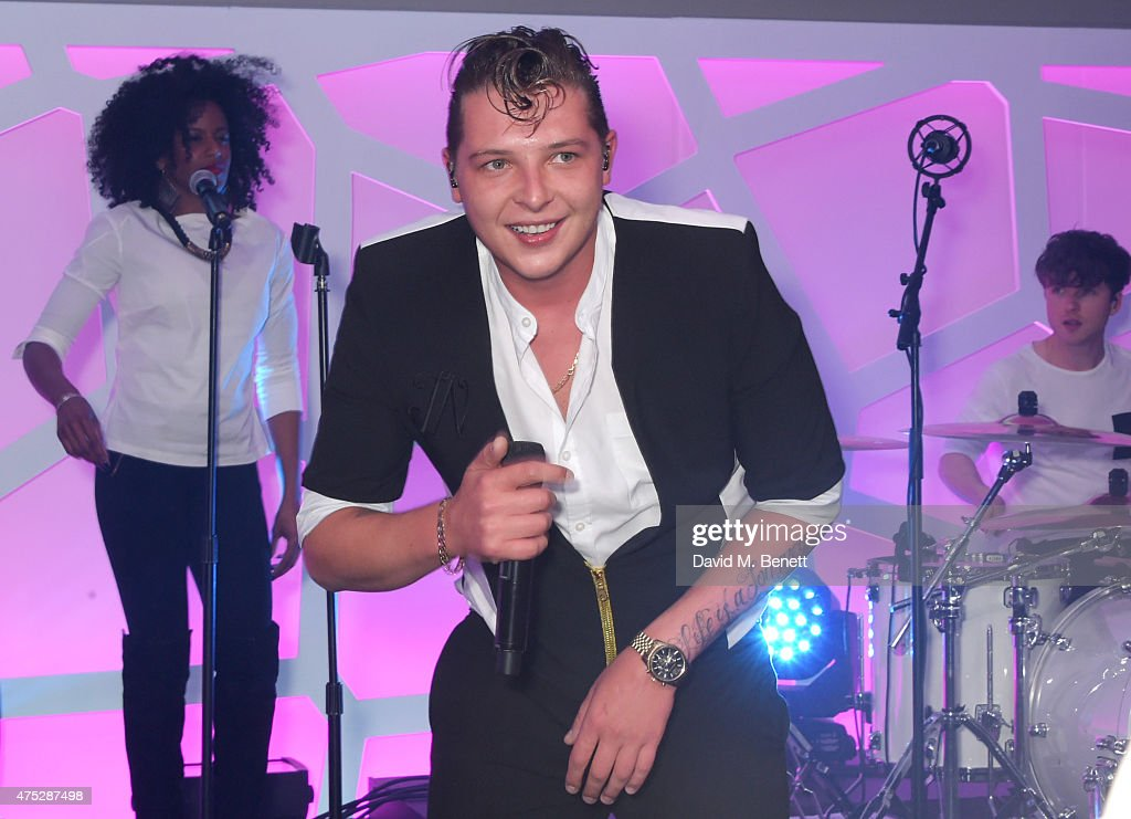 John Newman performs during day one of the Audi Polo Challenge at Coworth Park on May 30, 2015 in London, England.