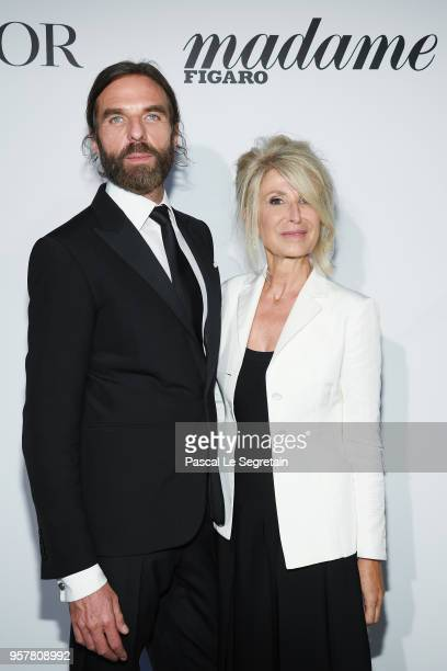 John Nollet and Anne Florence Schmitt attends a Dior dinner during the 71st annual Cannes Film Festival at JW Marriott on May 12 2018 in Cannes France
