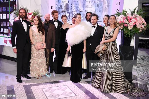 John NolletGuests Pierre CasiraghiBeatrice CasiraghiPrincess Alexandra of Hanover Charlotte Casiraghi Dimitri Rassam a guest Juliette Dol and a guest...