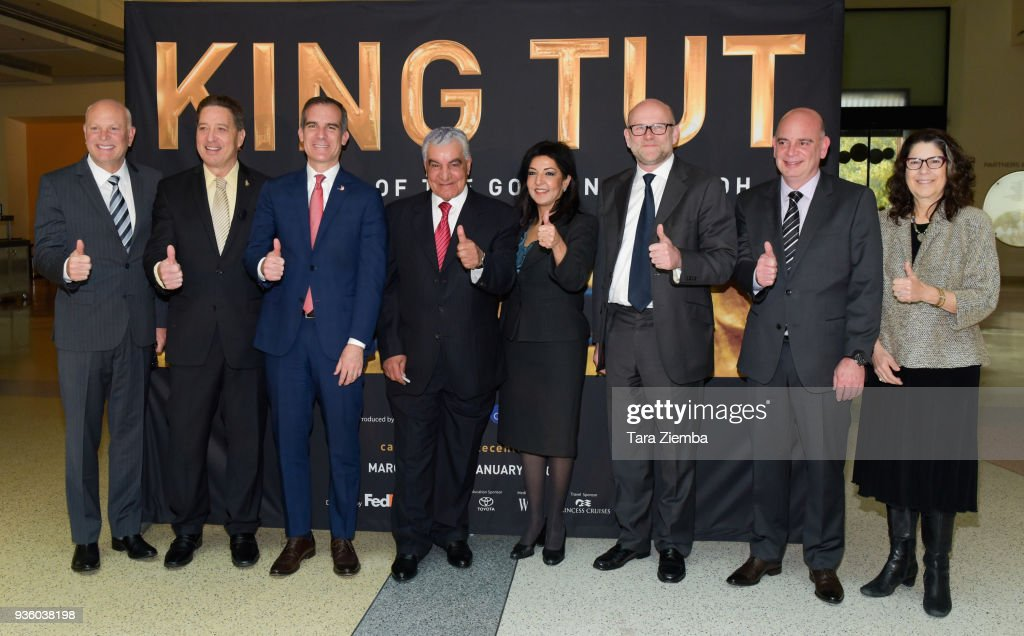 "Official Media Preview For World Premiere Of ""King Tut: Treasures Of The Golden Pharaoh"""