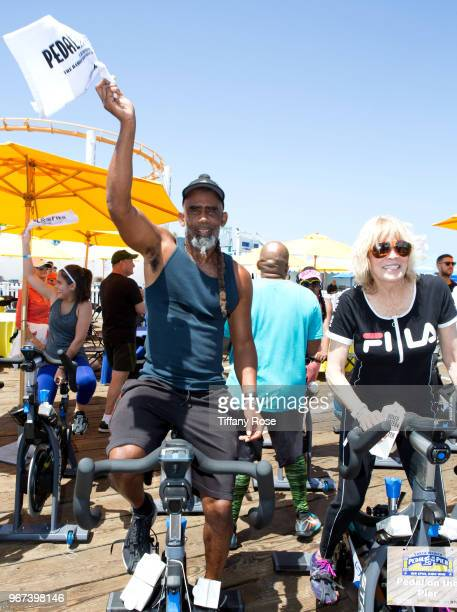 John Norwood Fisher attends the 8th Annual Pedal On The Pier Fundraiser at Santa Monica Pier on June 3 2018 in Santa Monica California