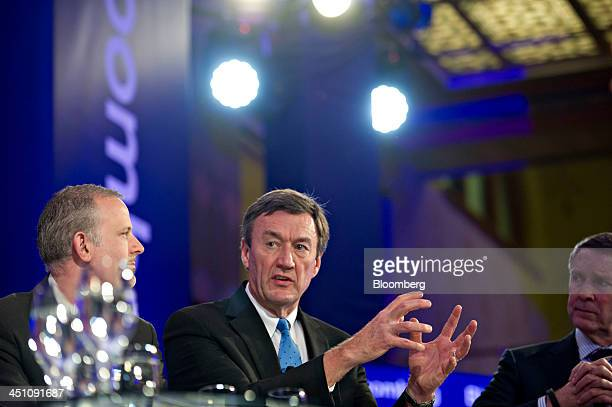 John Noseworthy president and chief executive officer of the Mayo Clinic center speaks at the Bloomberg Year Ahead 2014 conference in Chicago...