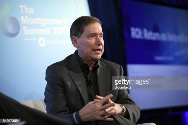 John Nottingham copresident of Nottingham Spirk speaks during The Montgomery Summit in Santa Monica California US on Wednesday March 8 2017 The...