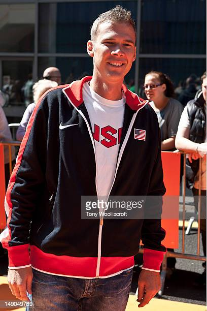 John Nunn of the USA Olympic team attends the UK premiere of Dr Seuss' The Lorax at cineworld on July 22 2012 in Birmingham England