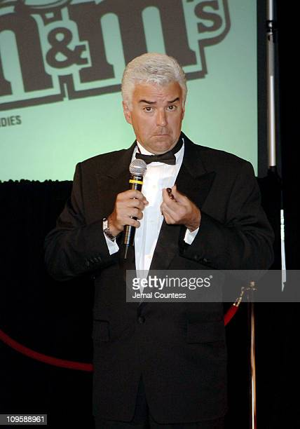 John O' Hurley samples the Mega M&M's during John O'Hurley Joins M&M's Brand Chocolate Candies in Introducing the New Mega M&M's for Adults at...