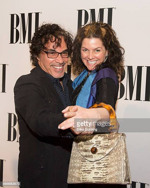 John Oates and Aimee Oates attend the 63rd Annual BMI Country awards on November 3 2015 in Nashville Tennessee