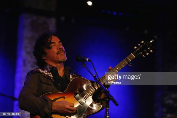John Oates performs at City Winery on January 6 2019 in New York City