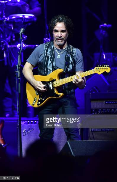 John Oates performs during the Daryl Hall John Oats And Tears For Fears Concert at the Prudential Center on June 17 2017 in Newark New Jersey