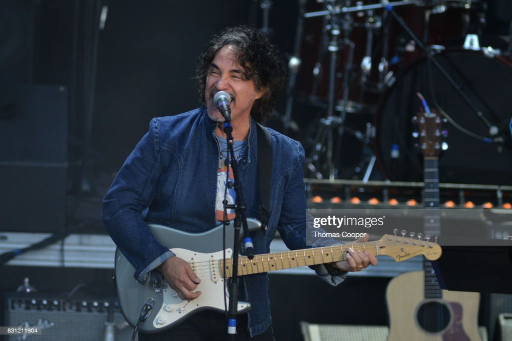 John Oates performs during The Rocky Mountain Way honoring inductee's into the Colorado Music Hall of Fame event at Fiddler's Green Amphitheatre on August 13, 2017 in Englewood, Colorado.