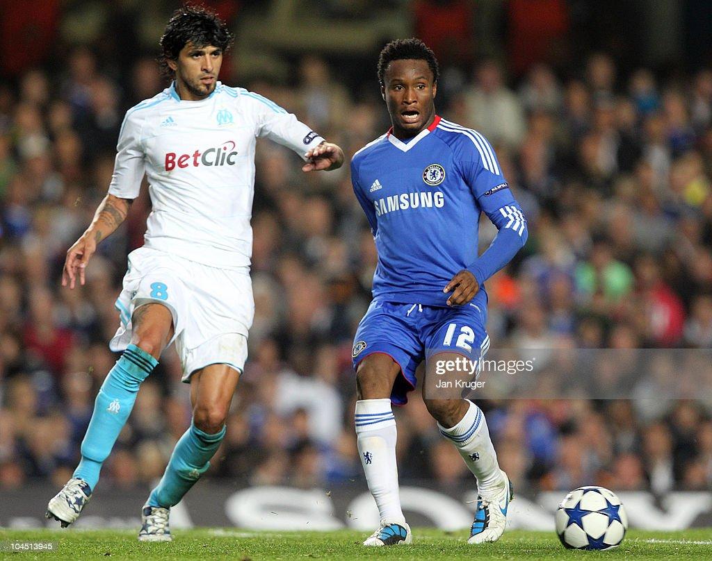 Chelsea v Marseille - UEFA Champions League : News Photo