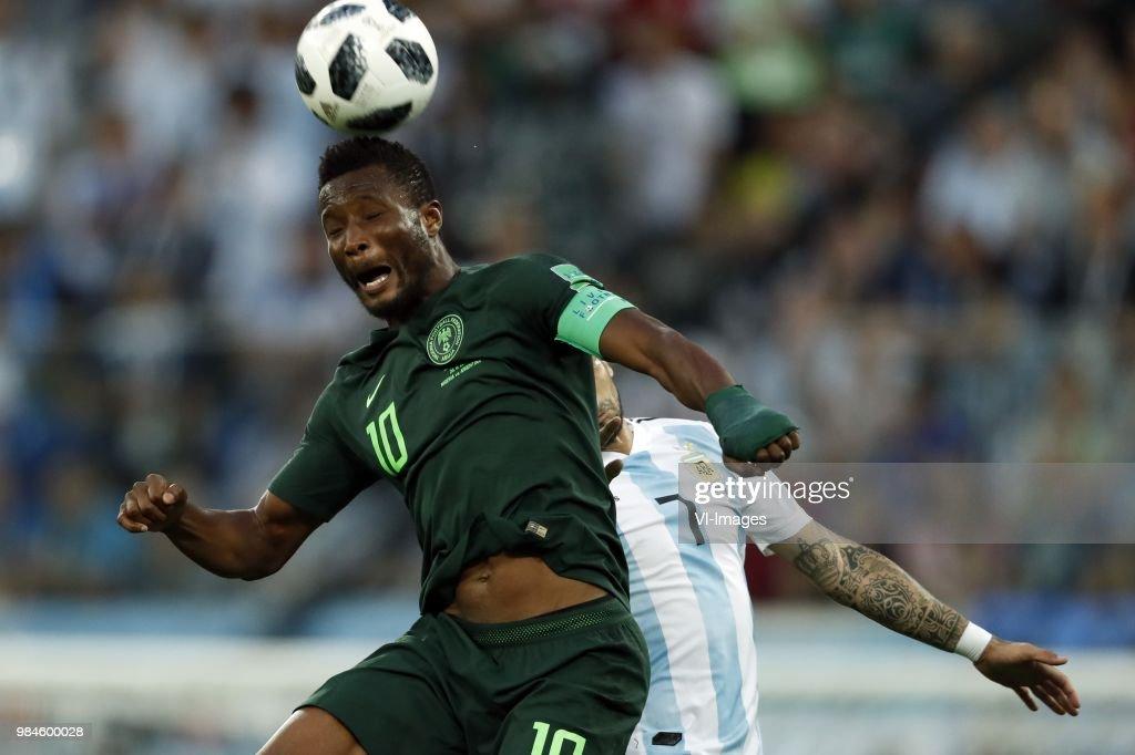 "FIFA World Cup 2018 Russia""Nigeria v Argentina"" : ニュース写真"