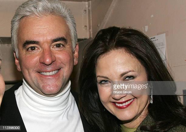 John O'Hurley and Lynda Carter