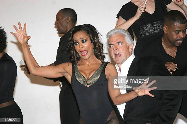 John O'Hurley and Robin Givens during Broadway's 'Chicago' Presents Its Newest Stars Robin Givens and John O'Hurley at Tricia Brown Studios in New...
