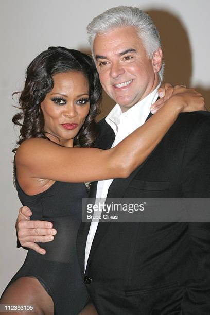John O'Hurley and Robin Givens during Broadway's Chicago Presents Its Newest Stars Robin Givens and John O'Hurley at Tricia Brown Studios in New York...