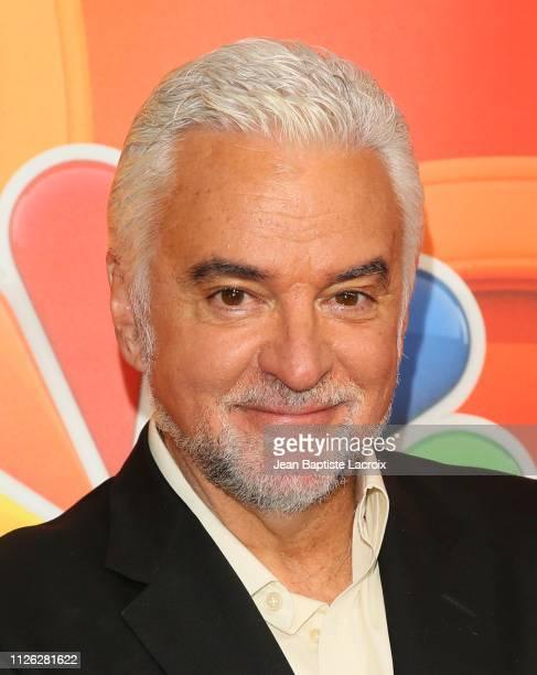 John O'Hurley attends NBC's Los Angeles MidSeason Press Junket on February 20 2019 in Los Angeles California