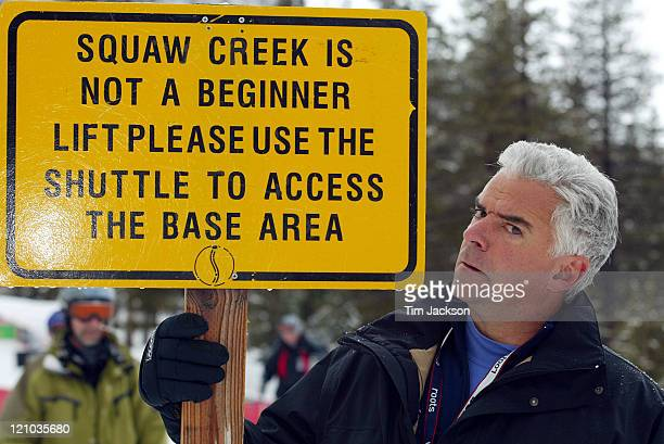 John O'Hurley during 2003 Celebrity Sports Invitational Ski Event in Squaw Valley at Resort at Squaw Creek in Lake Tahoe California United States