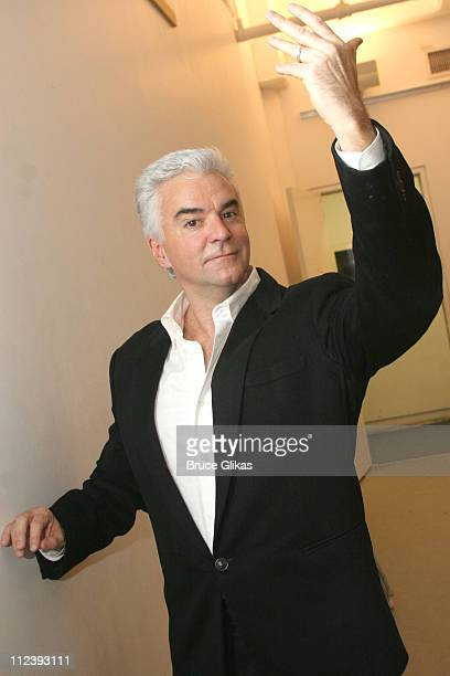 John O'Hurley during Broadway's 'Chicago' Presents Its Newest Stars Robin Givens and John O'Hurley at Tricia Brown Studios in New York City New York...