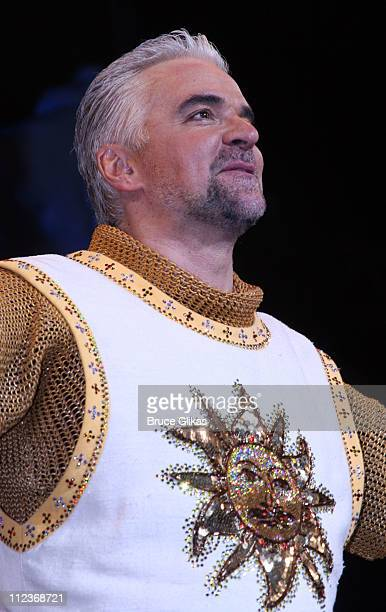 John O'Hurley during Opening Night For 'Spamalot' At The Wynn Las Vegas Arrivals at Wynn Hotel Casino in Las Vegas Nevada United States