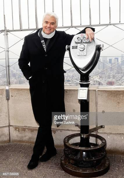 John O'Hurley visits The Empire State Building on November 26 2013 in New York City