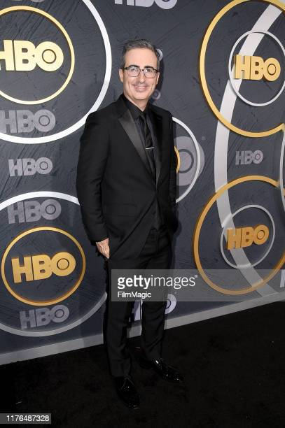 John Oliver attends HBO's Official 2019 Emmy After Party on September 22, 2019 in Los Angeles, California.