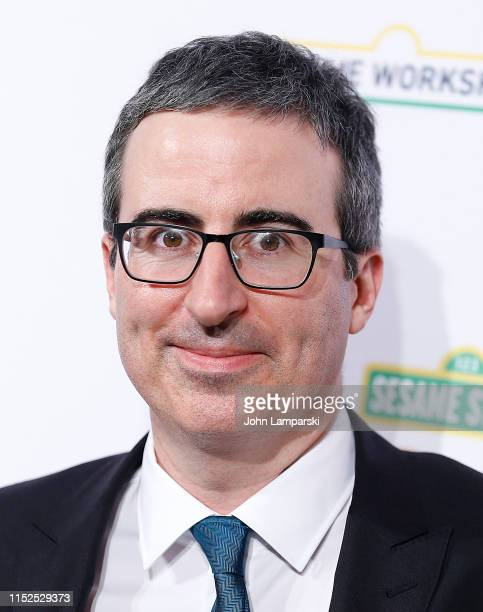 John Oliver attends Sesame Workshop's 50th Anniversary Benefit Gala at Cipriani Wall Street on May 29 2019 in New York City