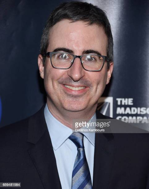 John Oliver attends the 2017 Garden Of Laughs Comedy Benefit at The Theater at Madison Square Garden on March 28 2017 in New York City